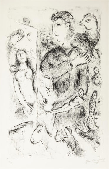 Marc Chagall-Creation (M. 971)-1980