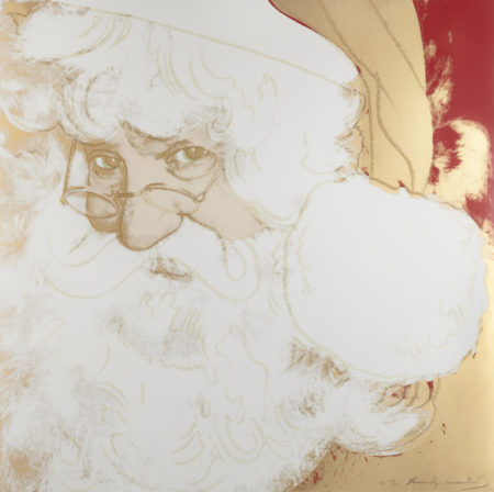 Andy Warhol-Santa Claus, from Myths (F./S. II.266)-1981