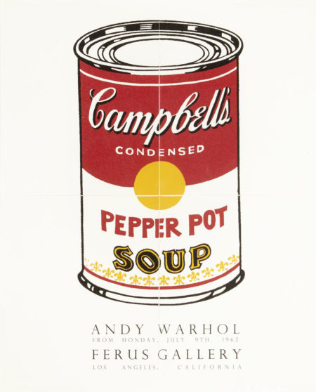 Andy Warhol-After Andy Warhol - Pepper Pot (Ferus Gallery Invitation)-1962