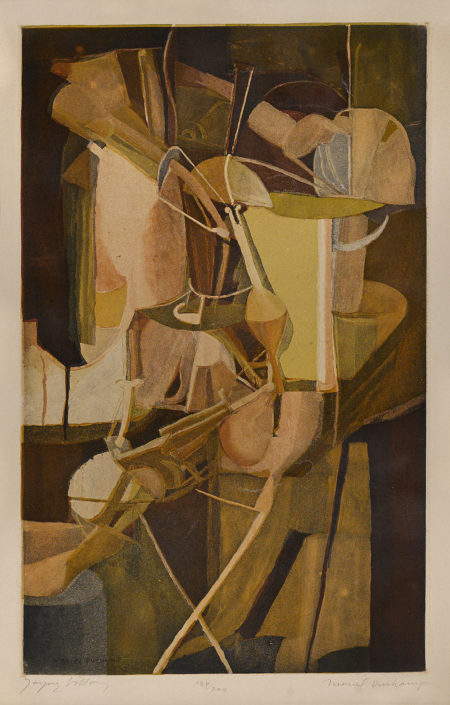 Marcel Duchamp-After Marcel Duchamp - La Mariee (G./P. E672)-1934