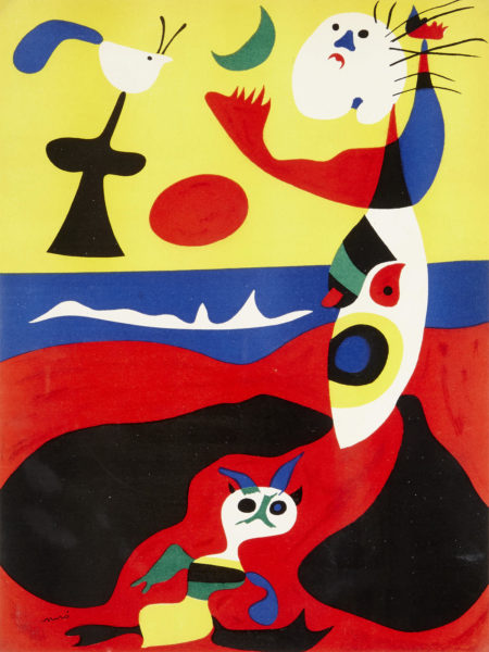 Joan Miro-L'Ete, from Verve Vol. 1, No. 3 (D. 1310)-1938