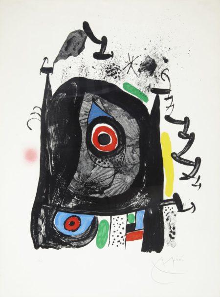 Joan Miro-Le Pelerin de Compostelle (M. 591)-1969