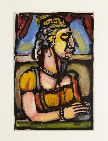 Georges Rouault-Sainte Pute, pl. 13, from Passion (C./R. 269)-1939