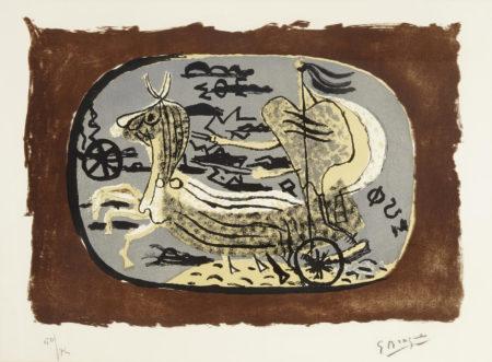 Georges Braque-Phaeton (Char I)-1945