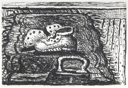 Philip Guston-Rug (G. 876)-1981
