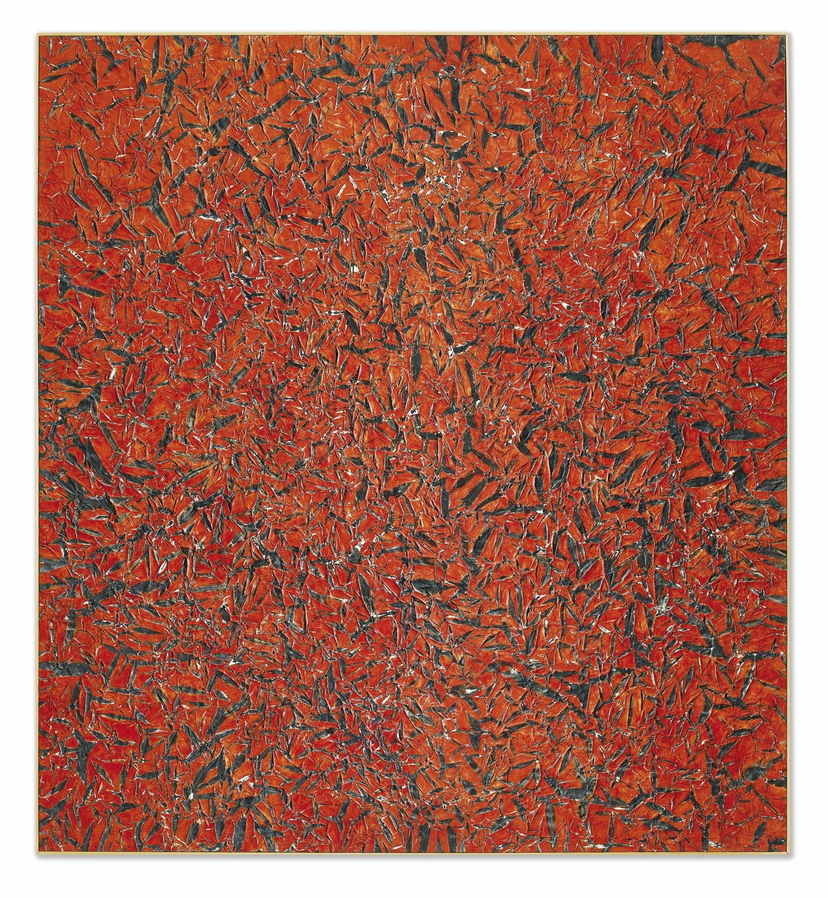 Simon Hantai-M.A.4 (Mariale)-1960