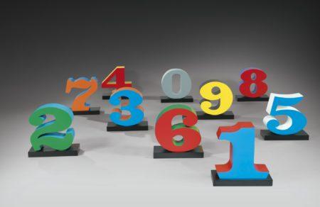 Robert Indiana-One Through Zero (The Ten Numbers)-2003