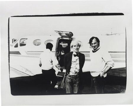 Andy Warhol-Andy Warhol and Jon Gould-1978
