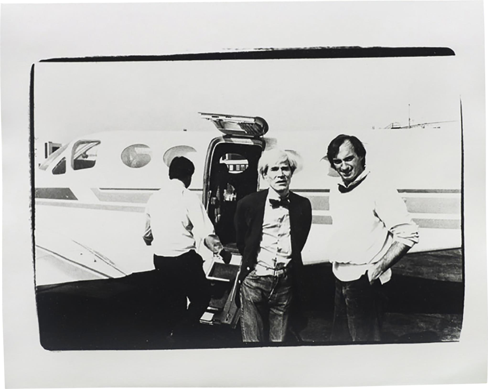 Andy Warhol-Andy Warhol and Jon Gould-1978