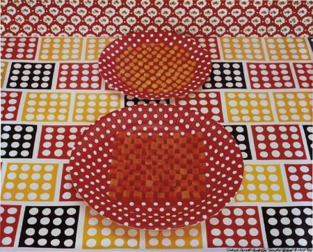 Sandy Skoglund-Cubed Carrots + Kernels of Corn-1978