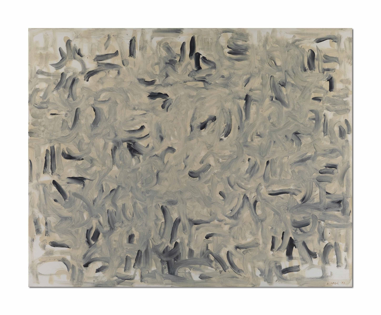 Lee Ufan-With Winds-1987
