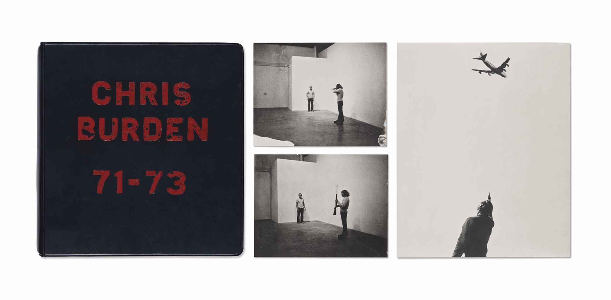 Chris Burden-Deluxe Photo Book: 1971-73-1974