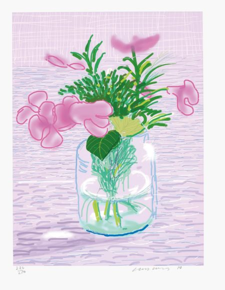 David Hockney-Untitled no. 329, from A Bigger Book: Art Edition A-2016