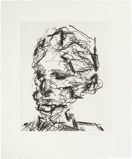 Frank Auerbach-Michael, from Seven Portraits-1990