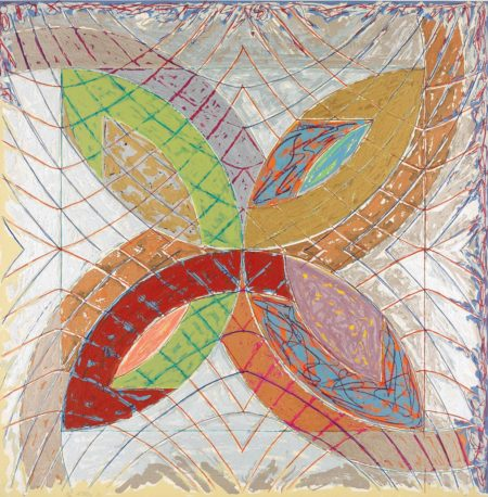Frank Stella-Polar Co-ordinates I, from Polar Co-ordinates for Ronnie Peterson-1980
