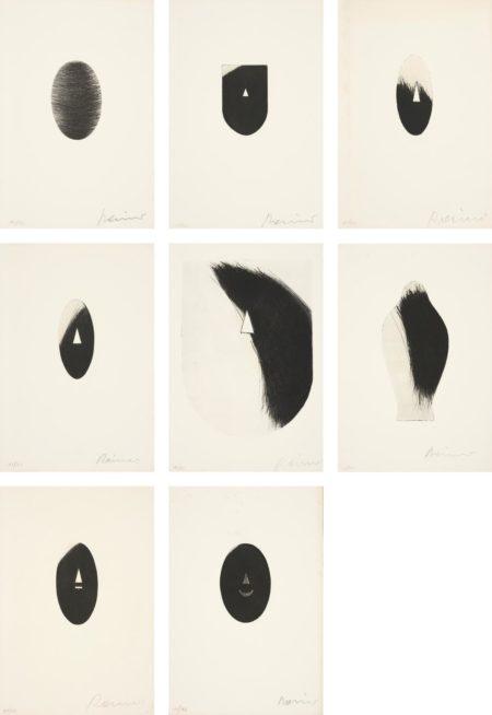 Arnulf Rainer-Acht Masken (Eight Masks)-1971