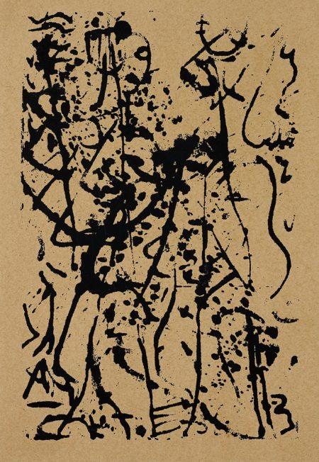 Jackson Pollock-Untitled (M20)-1946