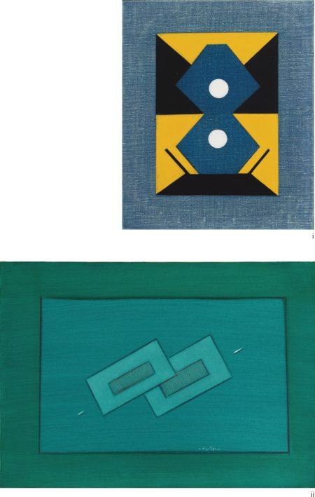 Ho Kan-(i) Untitled; (ii) Untitled (Two Works)-1979
