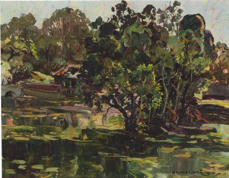 Henri Mege-Matinee A Hue Dans Le Parc Du Tombeau Royal De Tu-Duc-1963