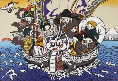 Maki Hosokawa-Seven Lucky Gods On Dragon Boat-2012