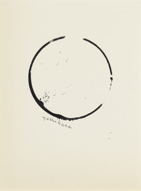 Jiro Yoshihara-Untitled (Circle)-