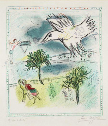 Marc Chagall-La Grande Corniche (Mourlot: 485A)-1967