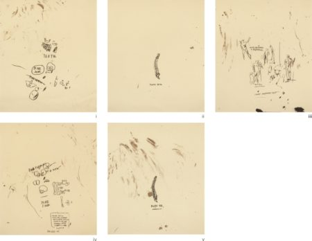 Jean-Michel Basquiat-Untitled (From Leonardo) (Set Of 5)-1983