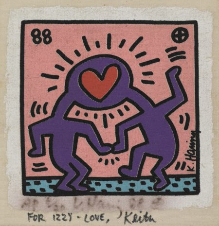 Keith Haring-Untitled (For Izzy - Love)-1988