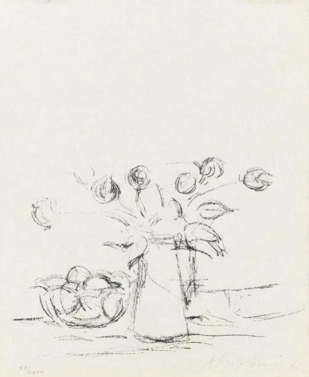 Alberto Giacometti-Sans Titre-