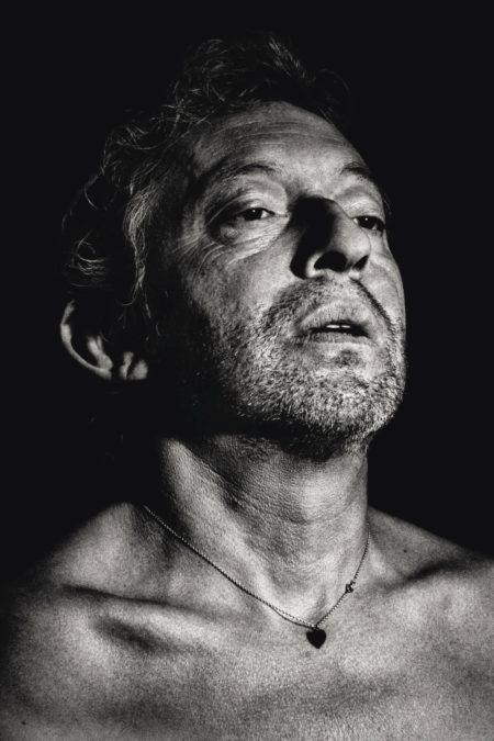 Claude Gassian-Serge Gainsbourg, Paris, 1984-1984