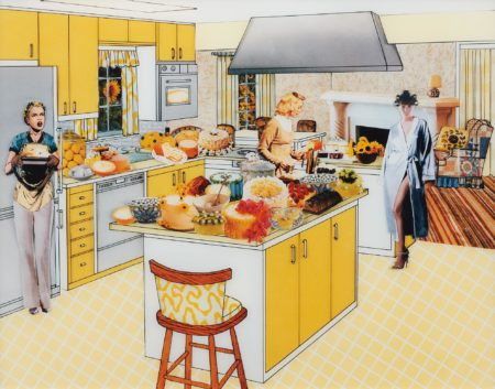 Laurie Simmons-The Instant Decorator (Yellow Kitchen)-2003