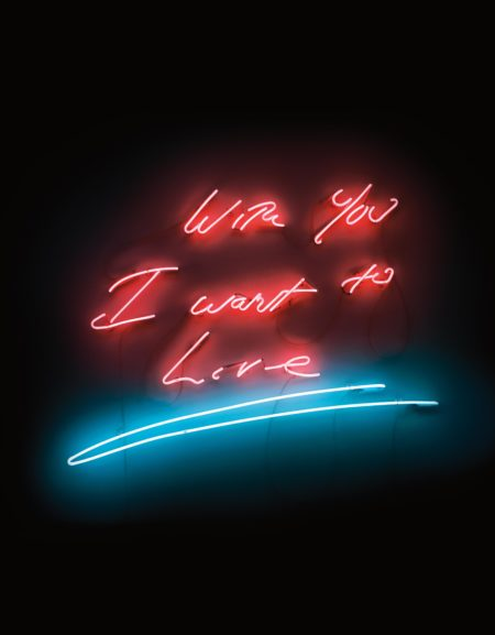 Tracey Emin-With You I Want To Live-2007
