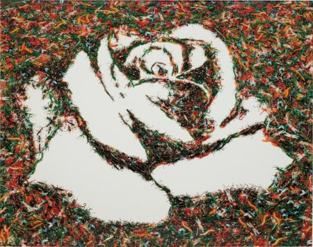 Vik Muniz-The White Rose (from the Monad Series)-2003