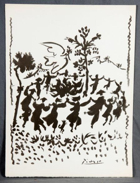 Pablo Picasso-Vive la Paix-1954