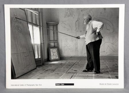 Robert Capa-Henri Matisse-1948
