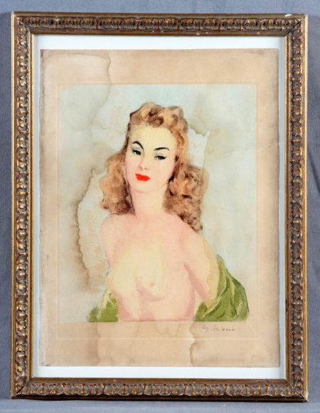 Hivert ,G. - Female figure in naked-1930