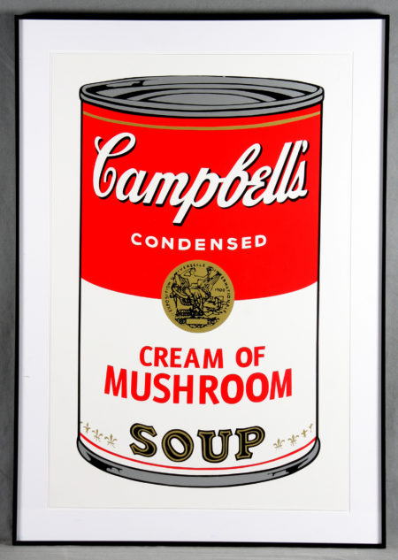 Warhol, Andy - Campbell's Soup Can 11.53. Cream of Mushroom-1988