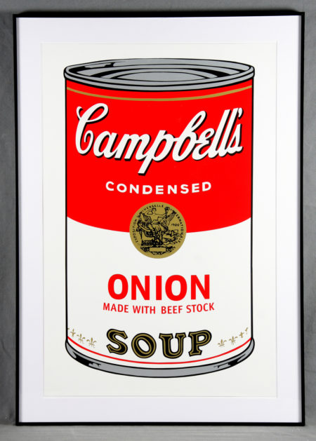 Andy Warhol-Campbell's Soup Can 11.47. Onion-1988
