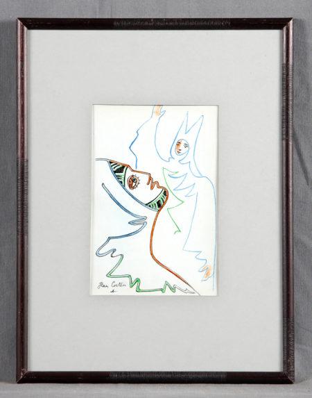 Jean Cocteau-Dessins de Theatre-
