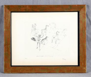 Paul Klee-Dressierte Wildpferde