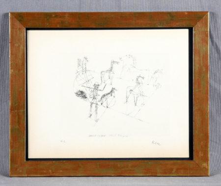 Paul Klee-Dressierte Wildpferde-