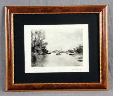 Claude Monet-Le Garenne Benzons