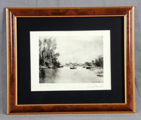 Claude Monet-Le Garenne Benzons-