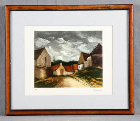 Vlaminck, Maurice - Le village-