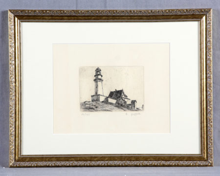 Edward Hopper-The Lighthouse at Two Lights-