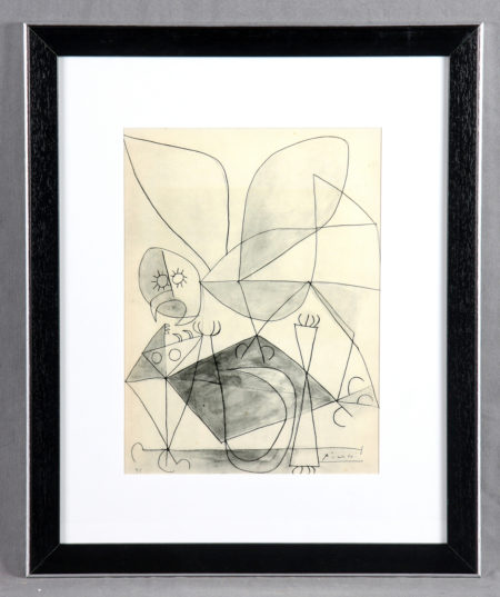 Pablo Picasso-Etude-