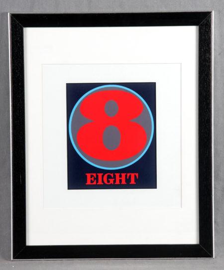 Indiana, Robert - Number Eight-