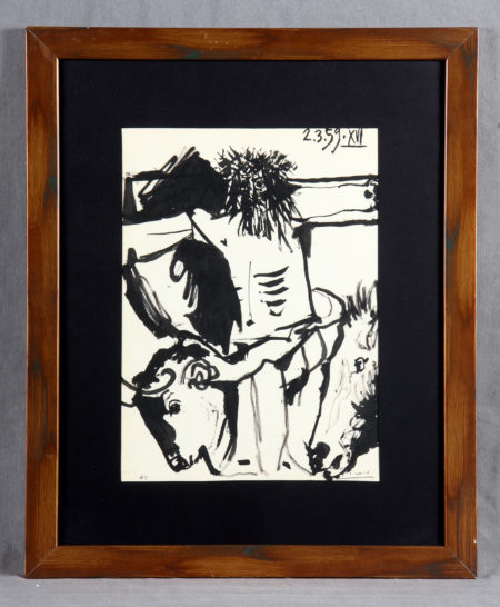 Pablo Picasso-Bulls and bullfighters, 2nd Carnet-