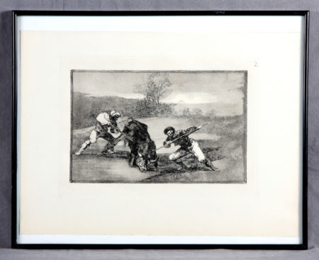 Goya, Francisco De - Bullfighting-