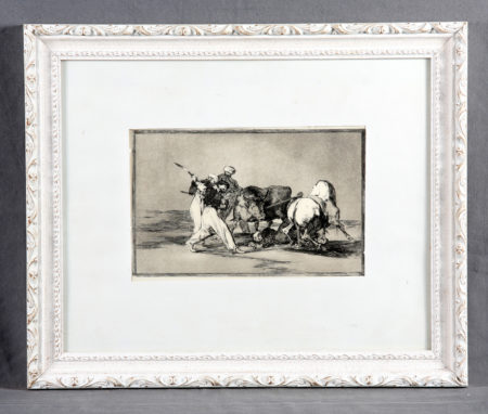 Francisco de Goya-Bullfighting-